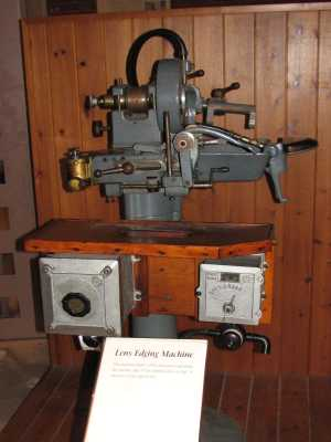 Taylor Hobson lens edging machine, Snibston, Coalville